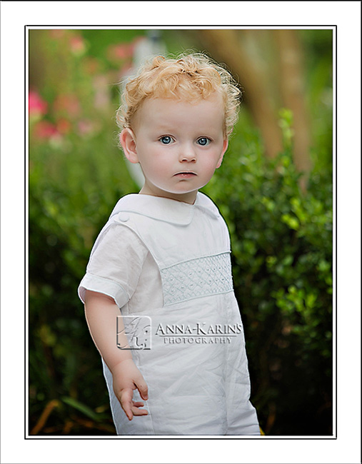 red haired toddler boy, twin brother, outdoor summer portrait of little boy