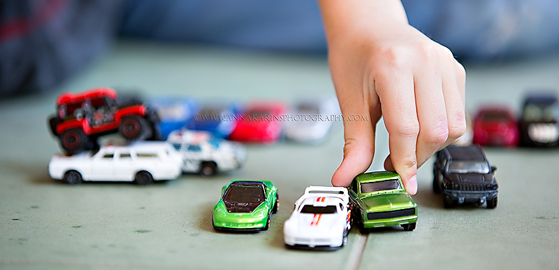 Hotwheels, Matchbox cars, boy playing with toy cars