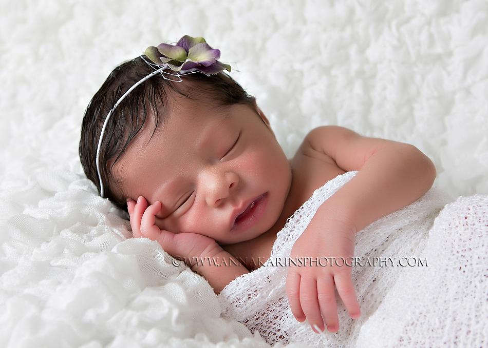 Newborn African Baby Girl