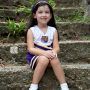 Little LSU cheer leader