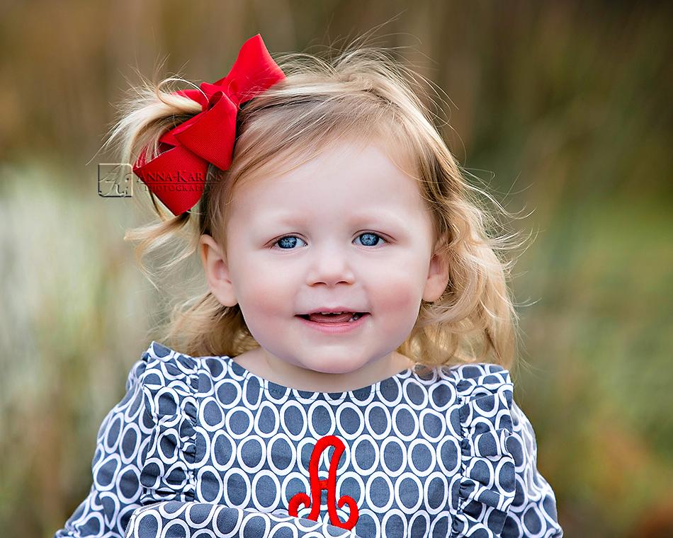 pretty blue eyed little girl